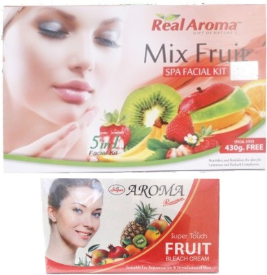 Real Aroma Radiant Complextion Facial Kit 740 g