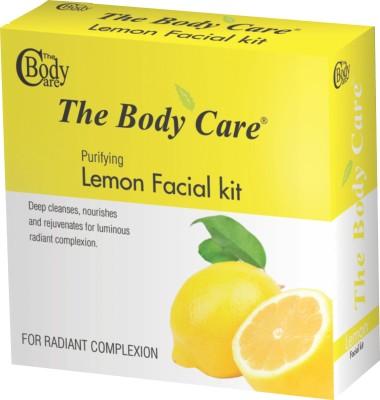 The Body Care Lemon Facial Kit 200 g