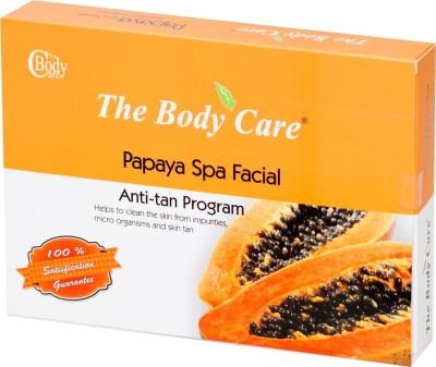 The Body Care Papaya Spa Facial Anti-tan Program Facial Kit Small 40 g