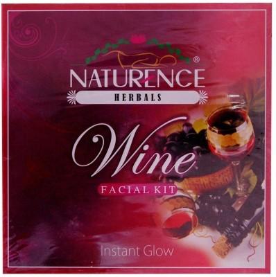 Naturence Herbal Wine facial kit 80 ml