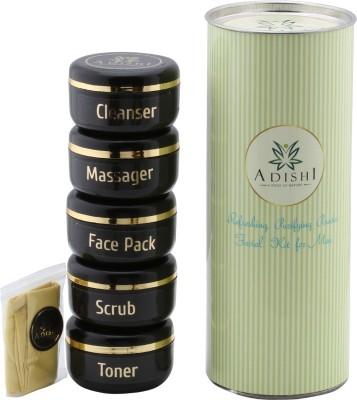 Adishi Gold Shimmer Powder Facial Kit For Men 300 g
