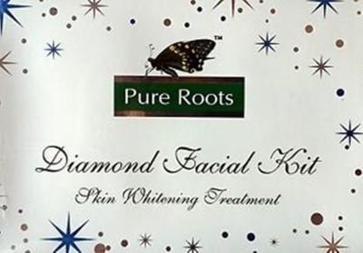 Pure Roots Diamond Facial Kit 100 g