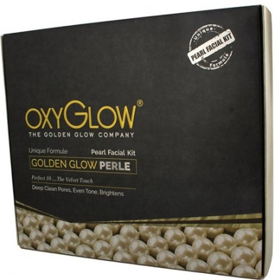 Oxyglow Golden Glow Pearl Facial Kit 260 g