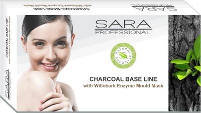 Sara Charcoal Base Line Facial Kit 480 g