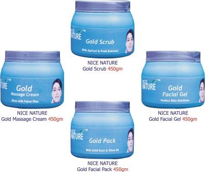 Nice Nature Gold Facial Kit Parlour Pack 1800 g