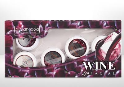 Aryanveda Herbal Wine Spa Facial Kit 210 g