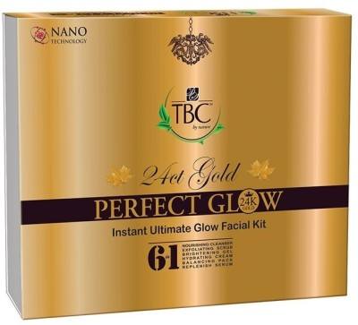 TBC by Nature 24ct Gold Facial Kit 250 gm