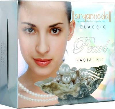 Aryanveda Herbals Pearl Facial Classic Kit 430 gm