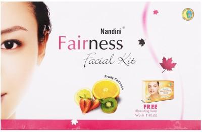 Nandini Herbal Care Fairness Facial Kit, 78g + 12ml 90 g
