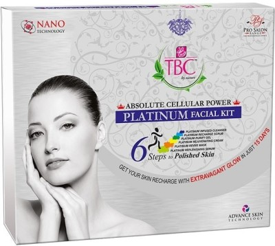 TBC by Nature Absolute cellular power platinum facial kit 250 gm