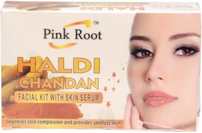 Pink Root Haldi Chandan Facial Kit 70 g