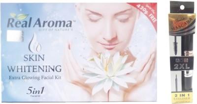 Real Aroma Extra Glowing Facial Kit 740 g