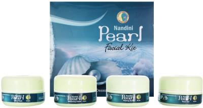 Nandini Herbal Care Nandini Pearl Facial Kit, 170g 170 g
