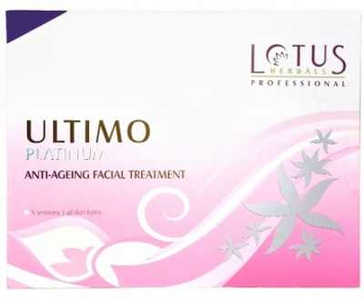 Lotus Herbals Professional Ultimo Platinum Anti-Ageing Facial Treatment 140 g