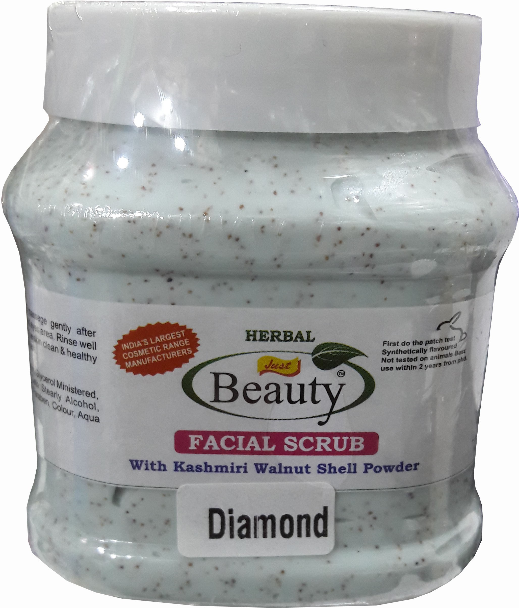 Beauty Studio diamond facial scrub 450 g(Set of 1)