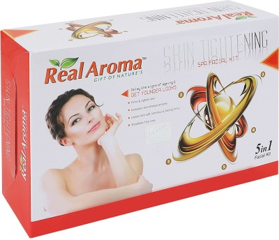 Real Aroma Skin Tightening Spa Facial Kit 710 g