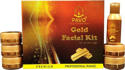 Pavo Gold Facial Kit 210 g