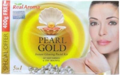 Real Aroma Pearl Gold Facial Kit 740 g