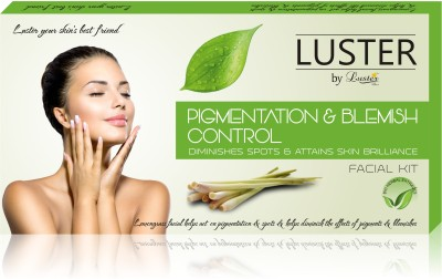 Luster Pigmentation & Blemish Control Facial Kit (New Pack) 175