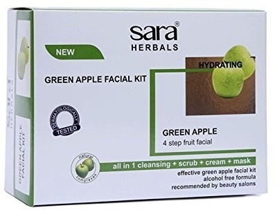 Sara Hydrating Green Apple Facial Kit 200 g