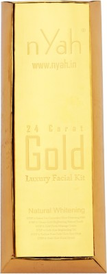 Nyah Gold Facial Kit 24 Kt 6 Steps(For 6 Facial)