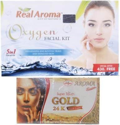 Real Aroma Oxygen Facial Kit 740 g