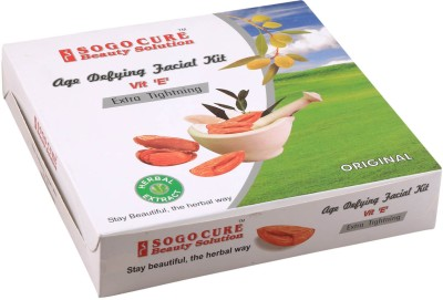 Sogo Cure Age Defying with vitamins E Facial Kit 360 g