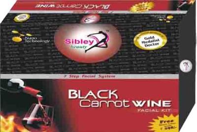 Sibley Beauty Black Carrot Wine Facial Kit 340 g