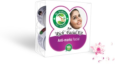 Dr. Sridevi's Ayu ,Rich, Anti-marks Facial Kit 200 g