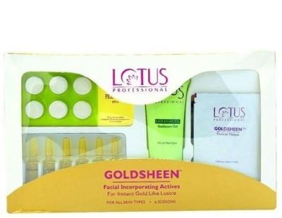 Lotus Professional Goldsheen Facial Incorporating Avtives 100 g
