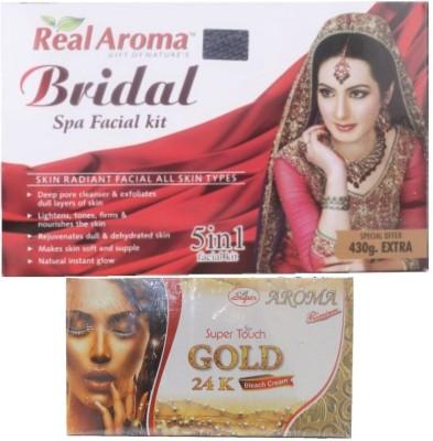 Real Aroma Bridal Spa Facial Kit 740 g
