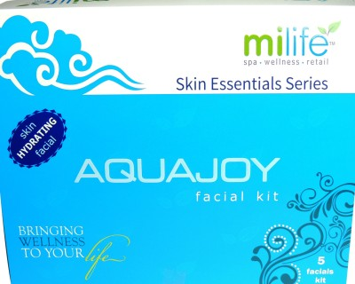 Milife Aquajoy Skin Hydrating Facials Kit 100 gms