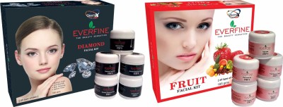 Everfine Everfine Fruit & Diamond Facial kit 185 g