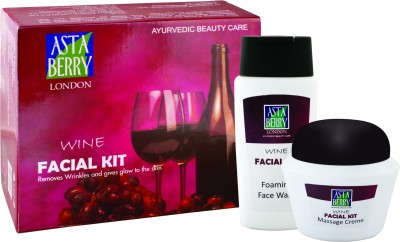 Astaberry Big Wine Facial Kit 50 g(Set of 4)