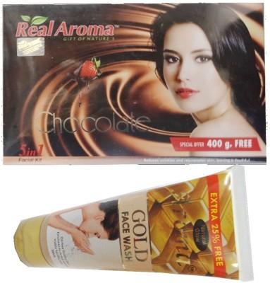 Real Aroma Chocolate Facial Kit 740 g
