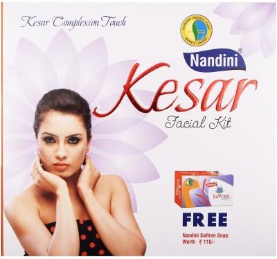 Nandini Herbal Care Nandini Kesar Facial Kit, 245g + 12ml 260 g