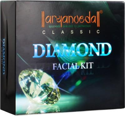 Aryanveda Herbals Diamond Facial Classic Kit 430 gm