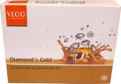 VLCC Diamond and Gold Fair glow Facial Kit 200 g