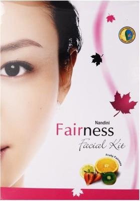 Nandini Herbal Care Fairness Facial Kit, 230g + 600ml 830 g