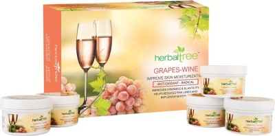Herbal Tree Grape Wine Facial Kit 420 g