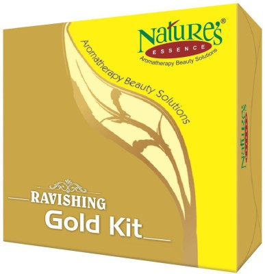 Natures Essence Ravishing Gold Facial Kit (Set Of 5) 100 g