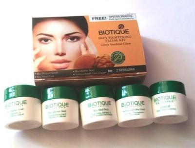 Biotique Skin tightening Facial Kit Big (Set of4) 205 g