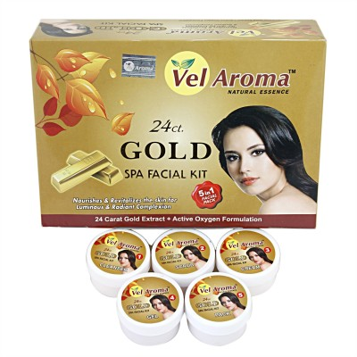 Vel Aroma Gold Spa Facial Kit 310 g