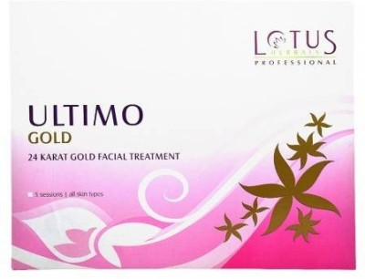 Lotus Ultimo Gold 24 Karat Gold Facial Treatment 80 g