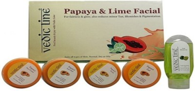 Vedic Line Papaya & Lime Facial 640 g