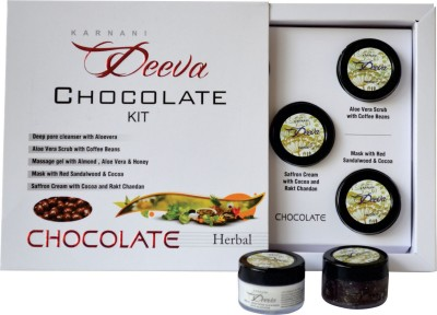Karnani Deeva Chocolate Facial Kit (Herbal) 75 g