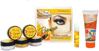 Luster Papaya Facial kit (Anti-Blemish & Dark spot reduction) 150 g