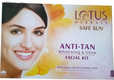 Lotus Anti Tan Whitening and Glow Facial Kit 160 g