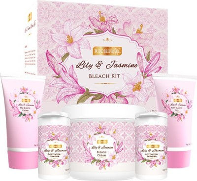 Richfeel Lily And Jasmine Bleach Kit 320 g