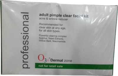 O3+ Dermal zone Professional Adult Pimple Clear Facial Kit 120 ml
